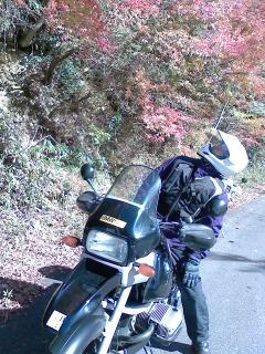 秋晴れのツーリング