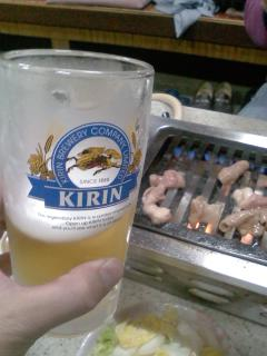 生もつとビール