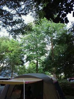 久留里でキャンプ