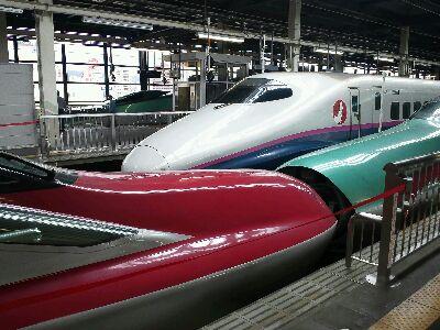 新幹線いろいろ@盛岡駅