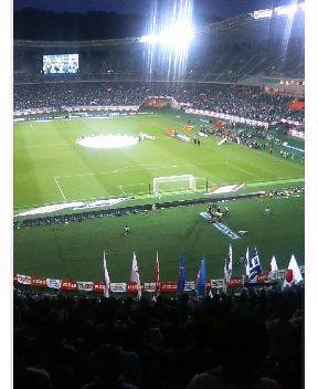 日本代表戦@静岡